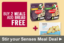 Stir your Senses Meal Deal