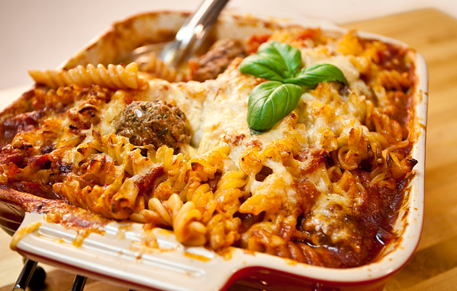 Baked Penne With Meatballs Recipes — Dishmaps