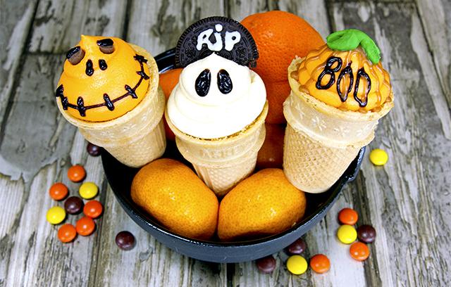 Halloween Ice Cream Cake Halloween Ice Cream Cone