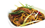 Gressingham Duck Noodle Stir Fry with Ginger and Oyster Sauce