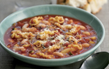 Tuscan-style Pasta and Bean Soup