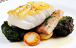 Matt Tomkinson's Cod with Pork Belly