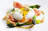 Matt Tomkinson's Poached Duck Egg