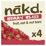 Nakd Free From Berry Cheeky Fruit Nut & Oat Bar Multipack