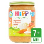 HiPP Organic Vegetable & Chicken Risotto