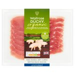 Waitrose Duchy Organic Unsmoked Back Bacon