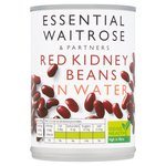 Red Kidney Beans in Water essential Waitrose