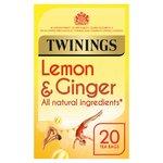 Twinings Lemon & Ginger Tea Bags