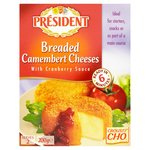 President Breaded Camembert Cheeses