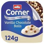 Muller Corner Vanilla Yoghurt with Chocolate Balls