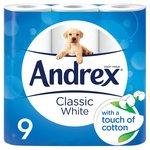 Andrex Classic White Toilet Tissue
