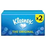 Kleenex Original Regular White Tissues Twin Pack