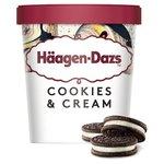 Häagen-Dazs Cookies & Cream Ice Cream