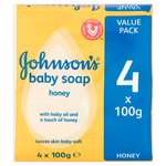 Johnson's Baby Soap with Honey
