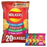 Walkers Classic Variety Crisps 24g x