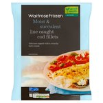Frozen Cod Fillets Line Caught Waitrose