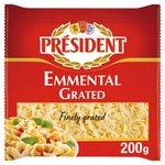 President Grated Emmental