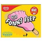 Funny Feet Strawberry Ice Cream Lolly