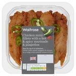 Waitrose Spiced Chicken Mini Fillets