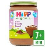 HiPP Organic Cocoa & Vanilla Dessert