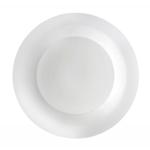 Denby James Martin Porcelain Everyday Dinner Plate 28cm, White