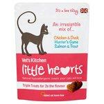 Vet's Kitchen Little Hearts Cat Treats Triple Treats