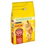 Go-Cat Crunchy & Tender Cat Food Beef