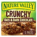 Nature Valley Crunchy Granola Bars Oats & Dark Chocolate