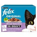 Felix Meat Selection in Gravy