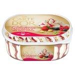 Carte D'Or Gelateria Ice Cream Dessert Mascarpone & Red Fruit Coulis