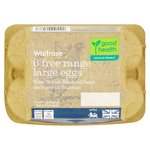 British Blacktail Free Range Large Eggs Waitrose