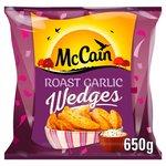 McCain Roast Garlic Wedges Frozen