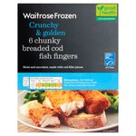 Breaded Cod Fingers Waitrose