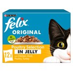 Felix Pouch Poultry in Jelly Multipack