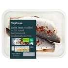 2 Butterflied Sea Bass With Tomato & Olive Waitrose