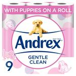 Andrex Gentle Clean Toilet Tissue