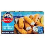 Birds Eye 8 Oven Crispy Fish Fingers Frozen