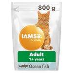 Iams Adult Dry Cat Food Ocean Fish