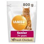 Iams Senior & Mature Dry Cat Food Chicken