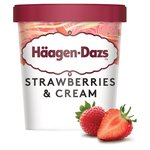 Haagen Dazs Strawberries & Cream Ice cream