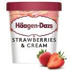 Haagen Dazs Strawberries & Cream Ice cream
