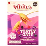 White's Toatly Oaty Wild Fruit Instant Sachets