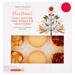 Waitrose 9 Mini Mince Pies Assorted Flavours