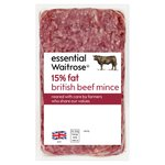 British Beef Mince (typically 15% fat) Waitrose