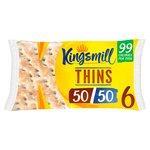 Kingsmill 5050 6 Sandwich Thins