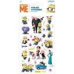 Despicable Me Minion Small Foil Stickers 3+