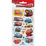 Disney Cars Small Foil Stickers 3+