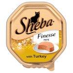 Sheba Finesse Tray Turkey in Pate