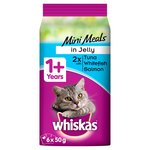 Whiskas 1+ Pouch Mini Meals Fish in Jelly