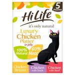 HiLife Indulge Me! Flaked Chicken Combination in Jelly Multipack